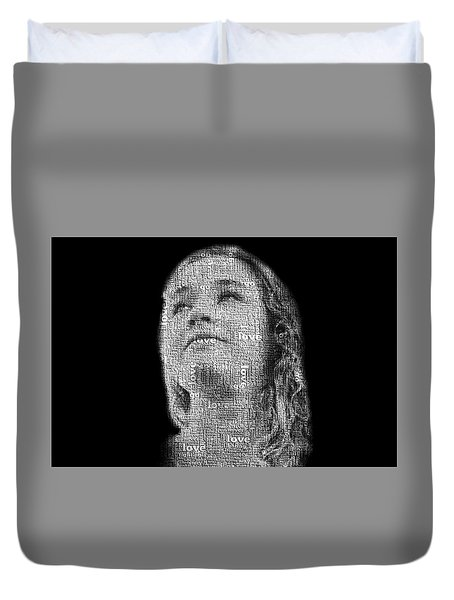 The Greatest Story Never Told Duvet Cover