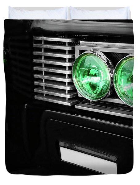 The Green Hornet Black Beauty Clone Car Duvet Cover by Gordon Dean II