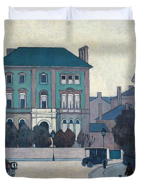 The Green House, St John's Wood Duvet Cover