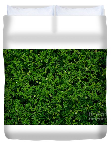 The Green Screen Duvet Cover by Tim Good