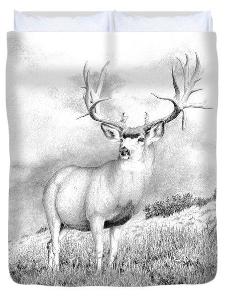 The Greenwood Buck Duvet Cover