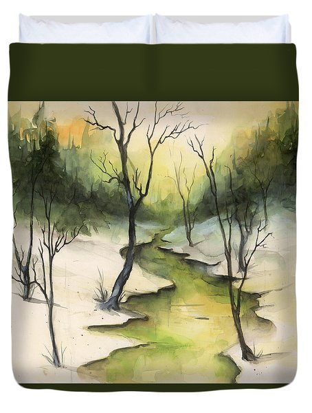 The Greenwood Duvet Cover
