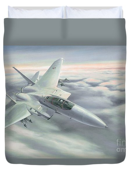 The Grey Ghost Duvet Cover