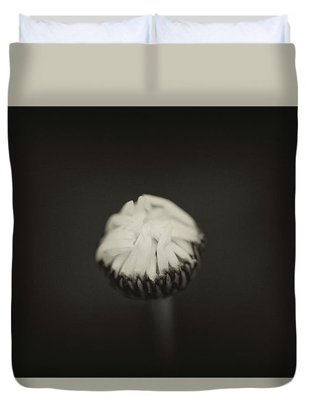 Duvet Cover featuring the photograph The Grieving Night by Shane Holsclaw