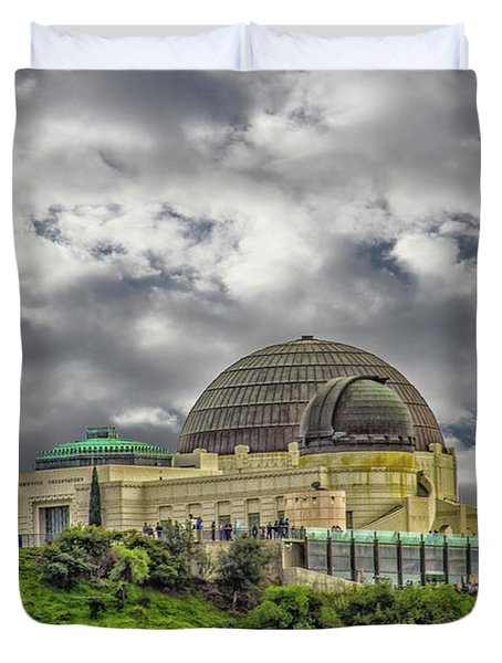 The Griffith Observatory Duvet Cover
