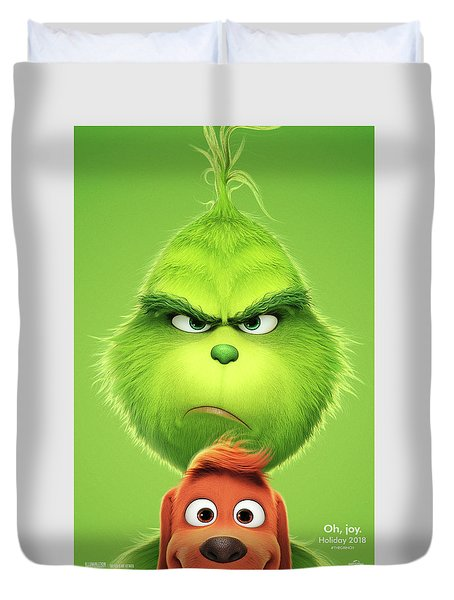 The Grinch 2018 A Duvet Cover