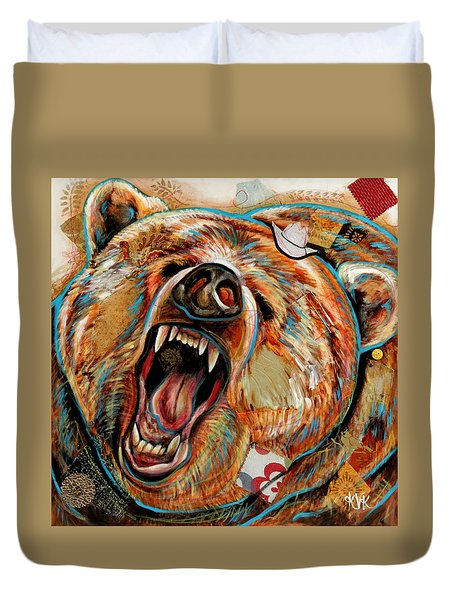 The Grizzly Bear Duvet Cover