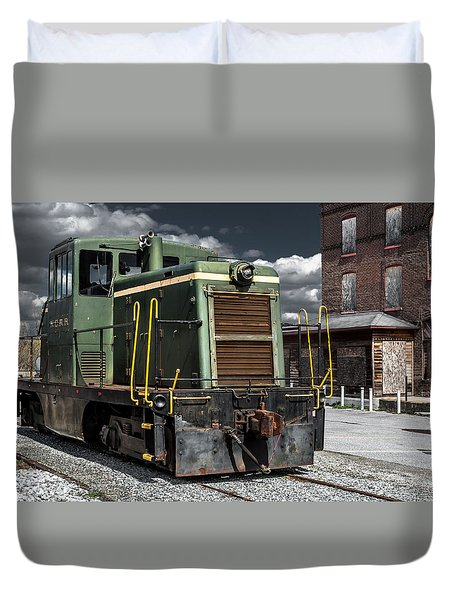The Grunge Train Rides Again Duvet Cover