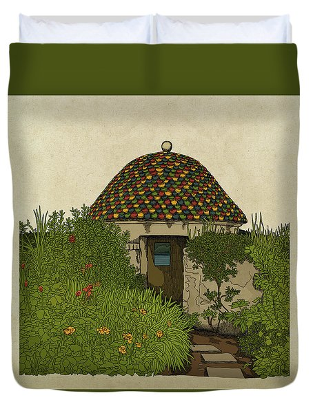 The Guard House Duvet Cover