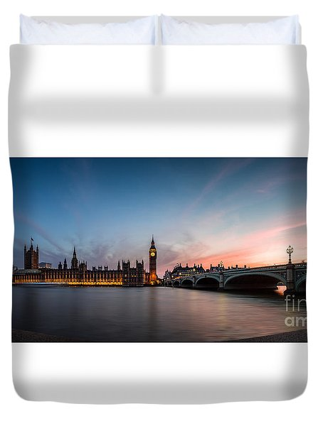 The Guardian Duvet Cover by Giuseppe Torre