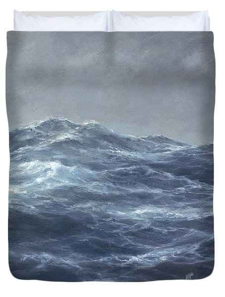 The Gull's Way Duvet Cover by Richard Willis