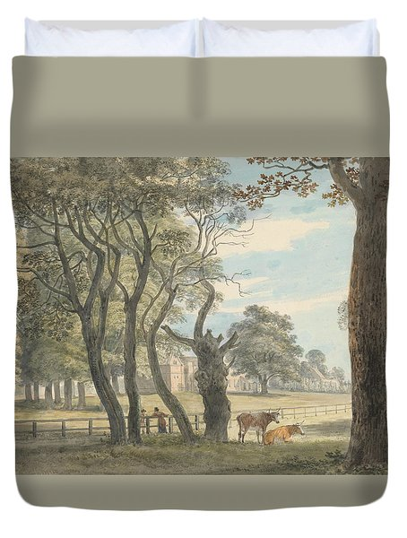 The Gunpowder Magazine, Hyde Park Duvet Cover