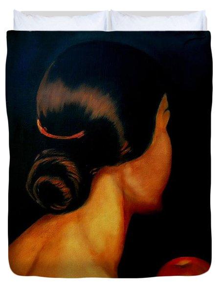 The Hair   Duvet Cover