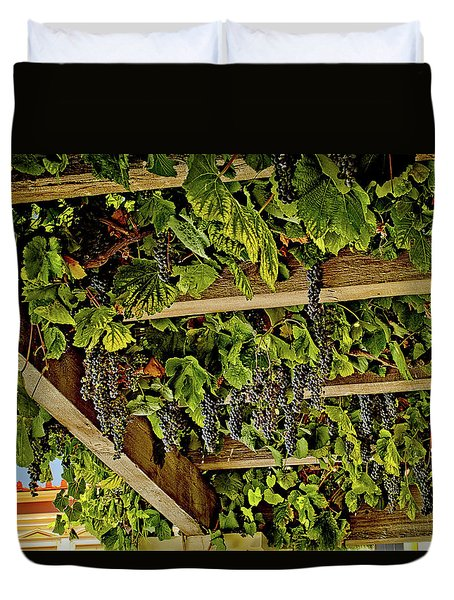 The Hanging Grapes Duvet Cover