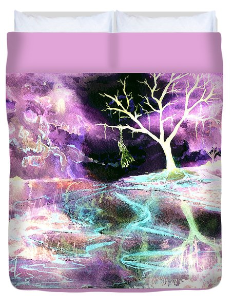 The Hanging Tree Inverted Duvet Cover