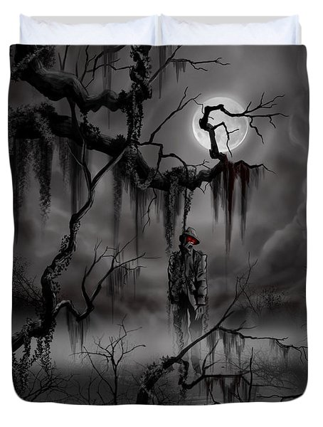 The Hangman Duvet Cover