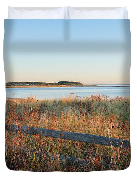 The Harbor Duvet Cover by Bill Wakeley