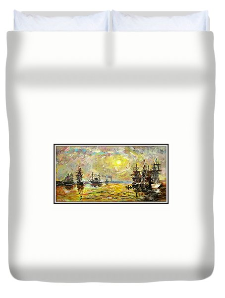The Harbour Duvet Cover