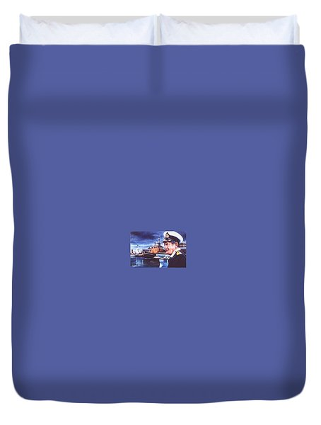 The Harbourmaster Duvet Cover