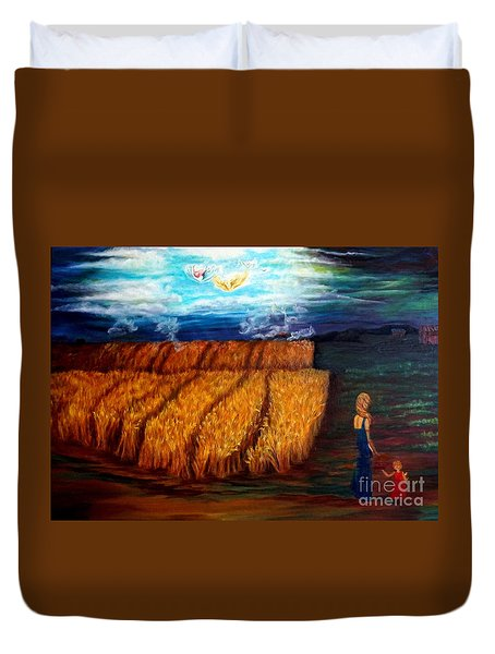 The Harvest Duvet Cover