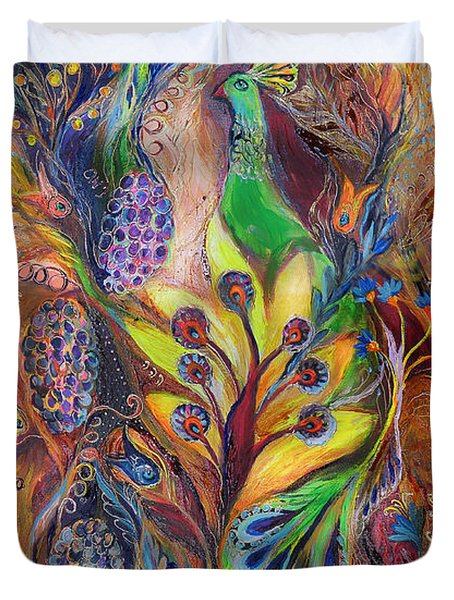The Harvest Time Duvet Cover by Elena Kotliarker