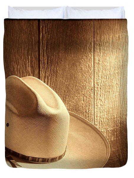 The Hat Duvet Cover