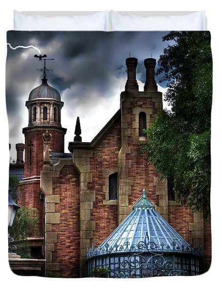 The Haunted Mansion Duvet Cover