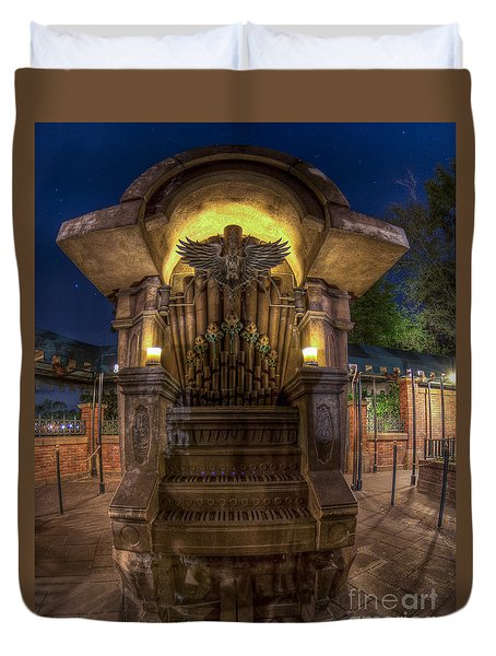 The Haunted Organ Duvet Cover