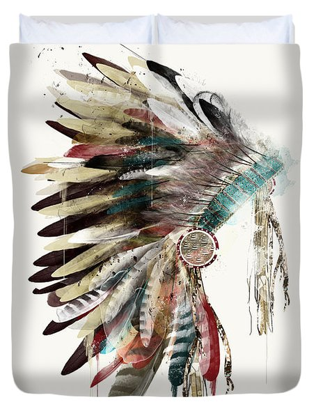 The Headdress Duvet Cover