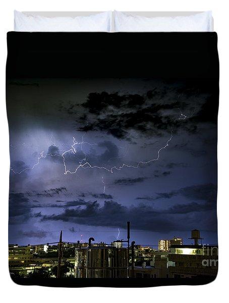 The Heavens Attack Duvet Cover