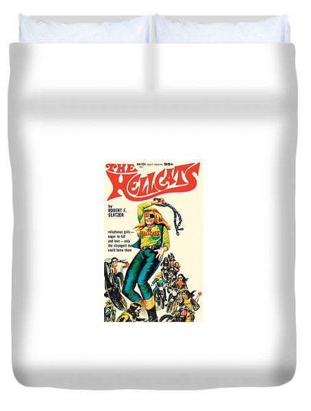 The Hellcats Duvet Cover
