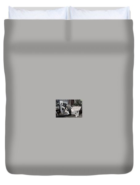 The Helpers Duvet Cover