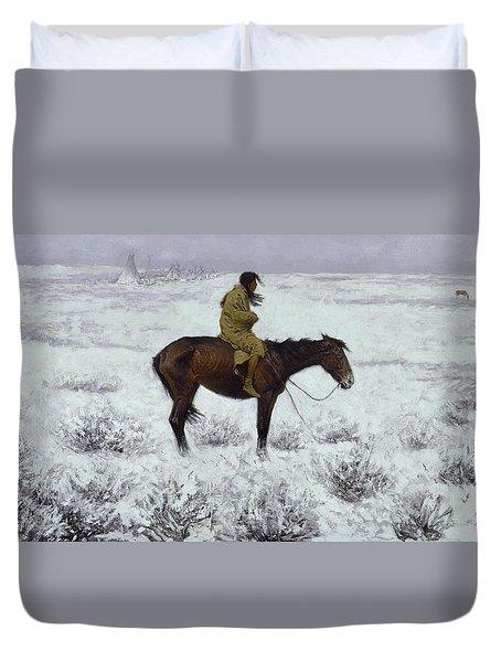 The Herd Boy Duvet Cover