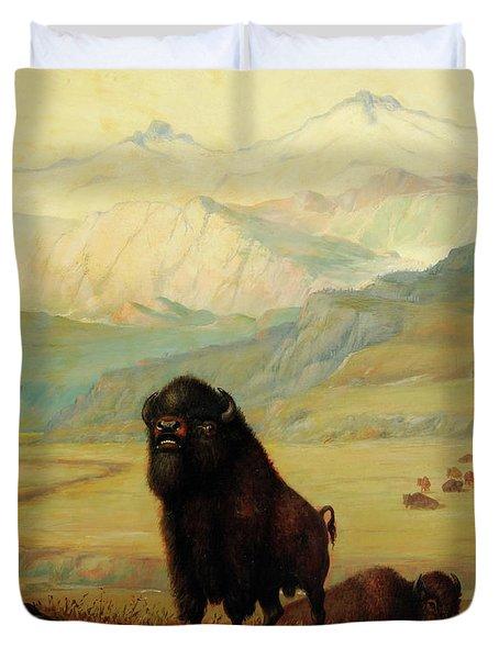 The Herd Bull Duvet Cover