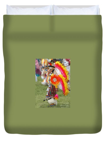 The Heritage Lives On Duvet Cover