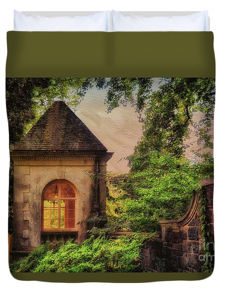 The Hideaway Duvet Cover by Lois Bryan