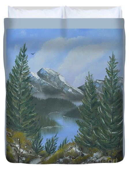 The High Country Duvet Cover by Jimmie Bartlett
