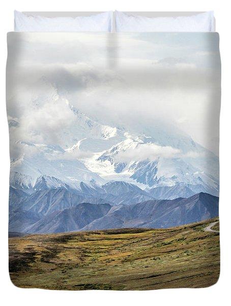 The High One - Denali Duvet Cover