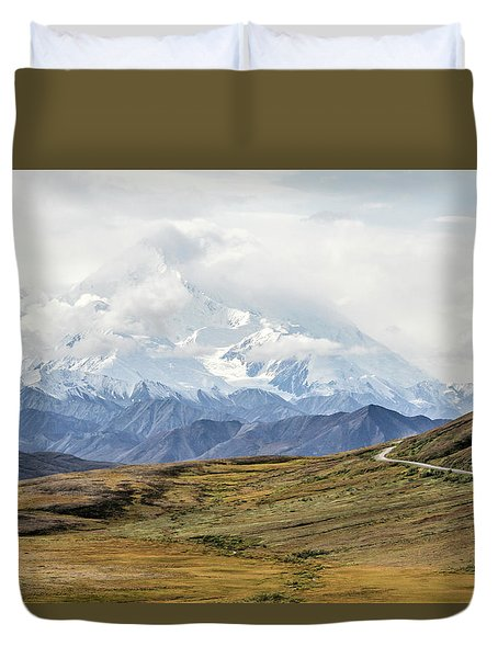 The High One - Denali Duvet Cover