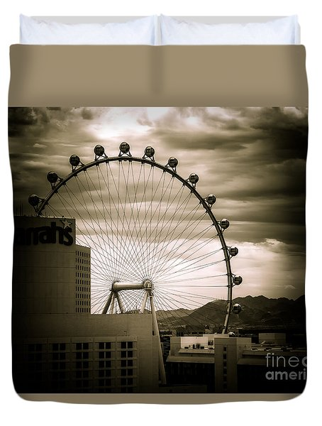 The High Roller Duvet Cover