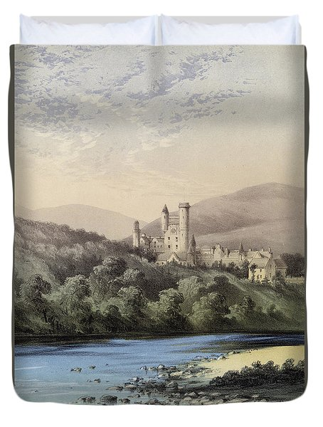 The Highland Home, Balmoral Castle Duvet Cover