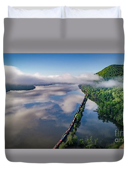 The Highlands Looking South Duvet Cover