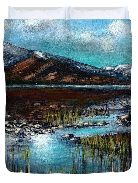 The Highlands - Scotland Duvet Cover