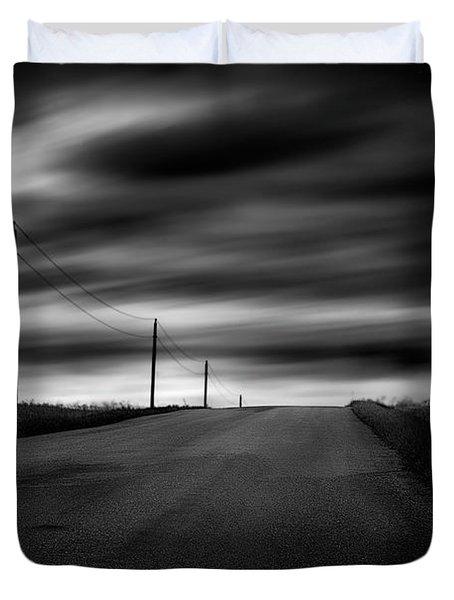 The Highway Duvet Cover