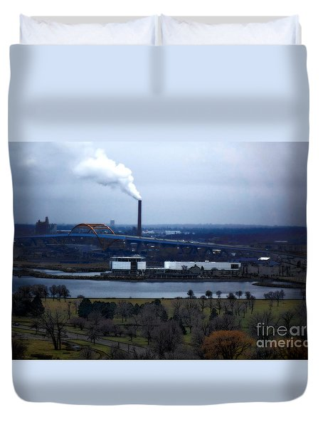 The Hoan Duvet Cover by David Blank
