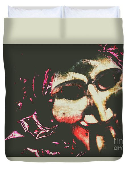 The Hollywood Freak Show Duvet Cover