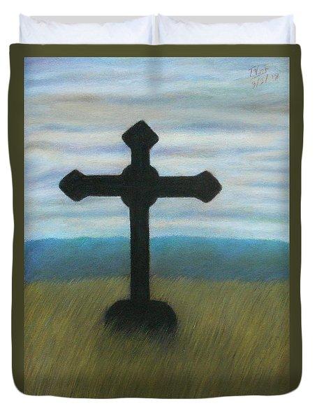 The Holy Cross Duvet Cover