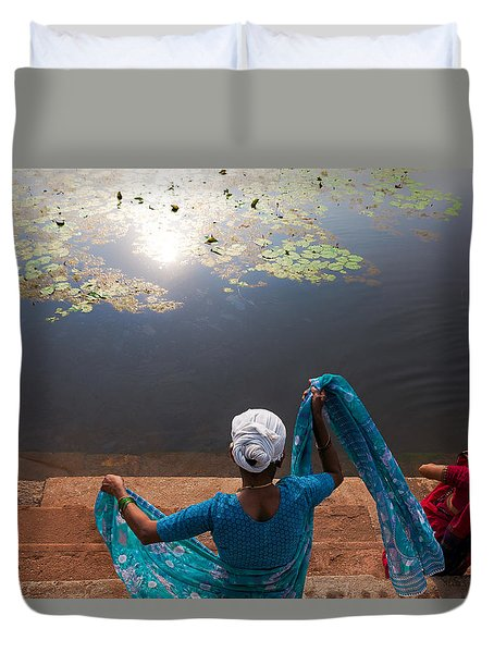 The Holy Pond Duvet Cover