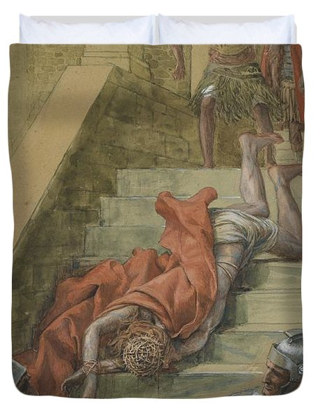 The Holy Stair Duvet Cover by Tissot