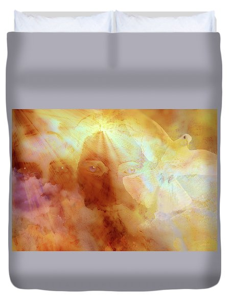 The Holy Trinity Duvet Cover